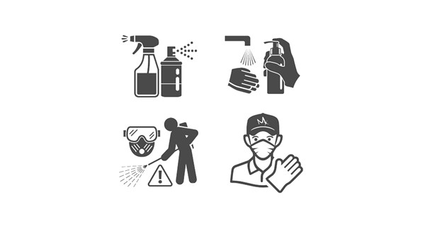 Hygiene Disinfenction 1 Icons