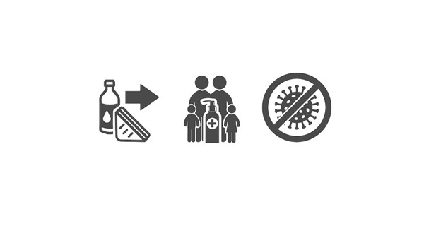 Hygiene Disinfenction 2 Icons