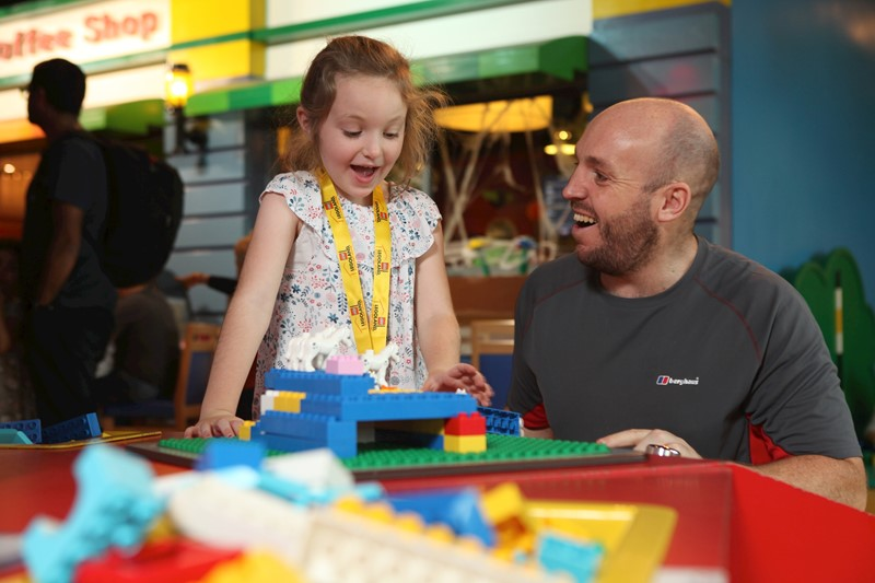 Play session at LEGOLAND Discovery Centre Manchester